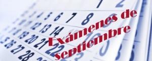 Resultado de imagen de examenes septiembre